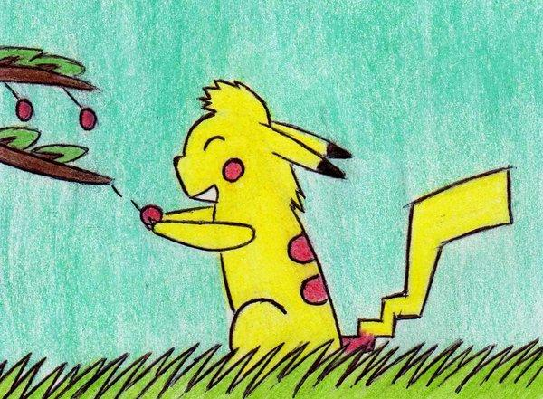 Pikachu by Kooskia