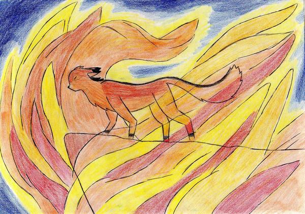 Fire by Kooskia