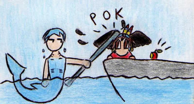 Cooro and Husky by Kooskia