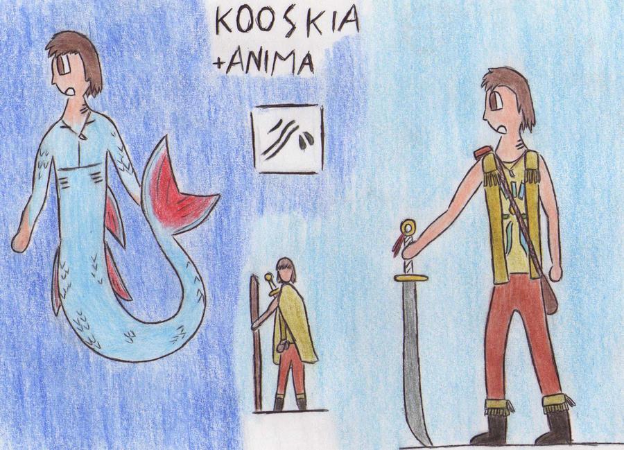 + Anima character by Kooskia