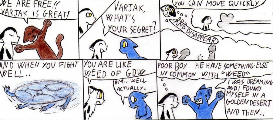 The secret of Varjak Paw by Kooskia