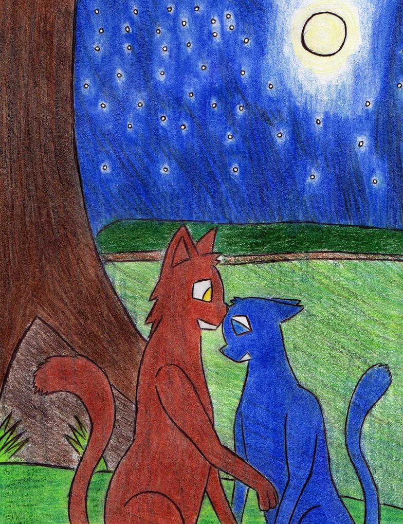 Bluestar's night by Kooskia