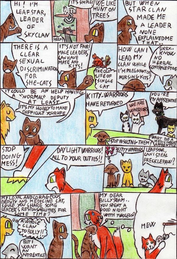 SPOILER  Leafstar's Problem by Kooskia