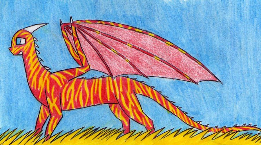 Puck the Sardinian Dragon by Kooskia