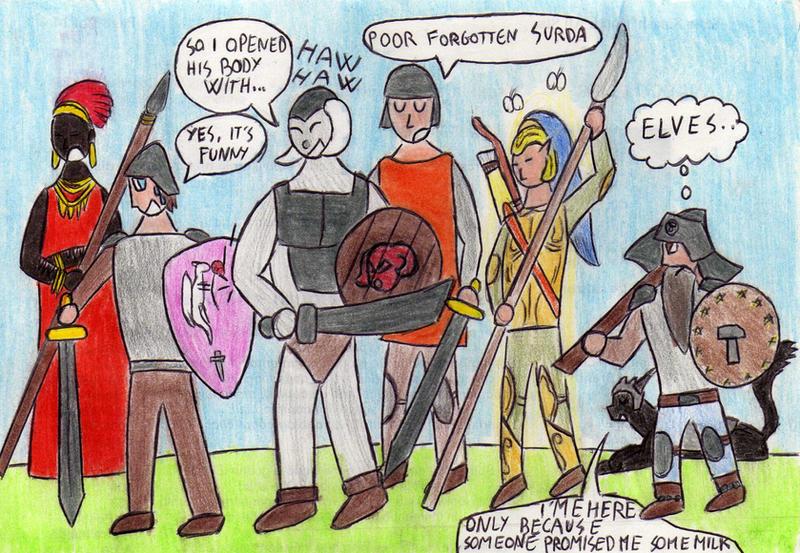 Eragon warriors by Kooskia