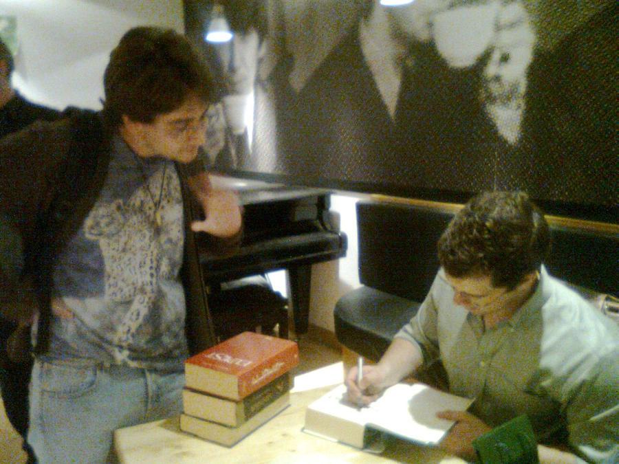 With Eragon's author by Kooskia