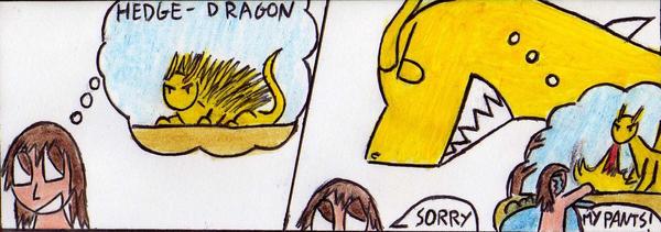 Dragon's irony by Kooskia