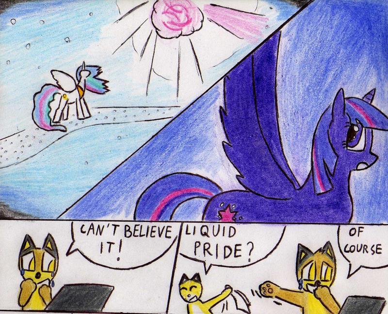 Princess Twilight Sparkle alicorn by Kooskia