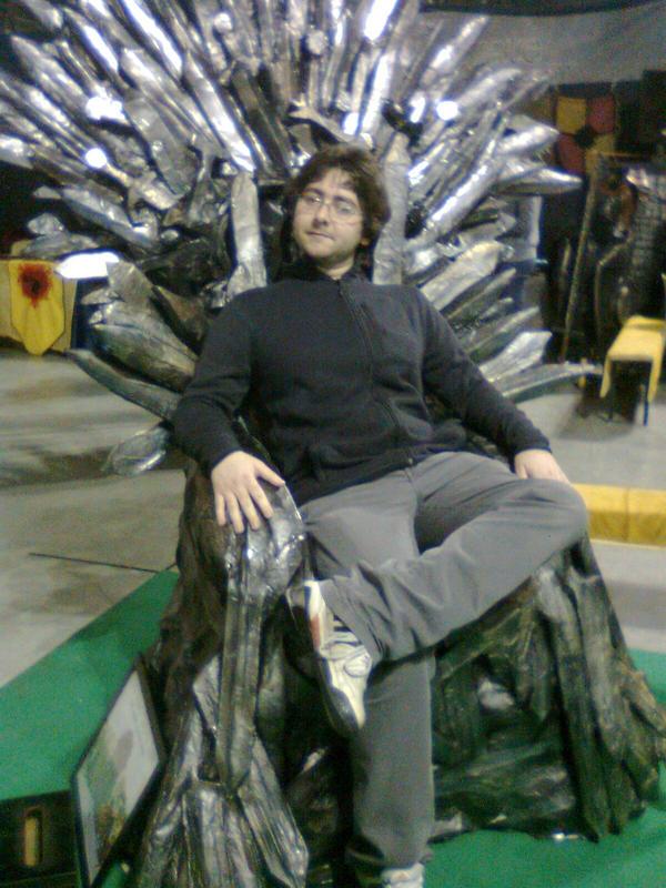 On the Iron Throne by Kooskia