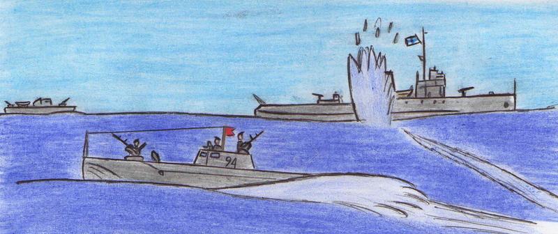 Soviet m.torpedo boat battle (1 of 3) by Kooskia