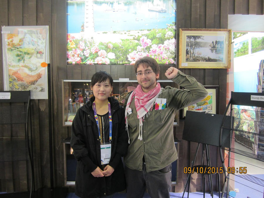 Kooskia with North Korean Lady by Kooskia