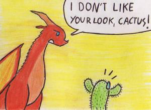 Cactus in danger