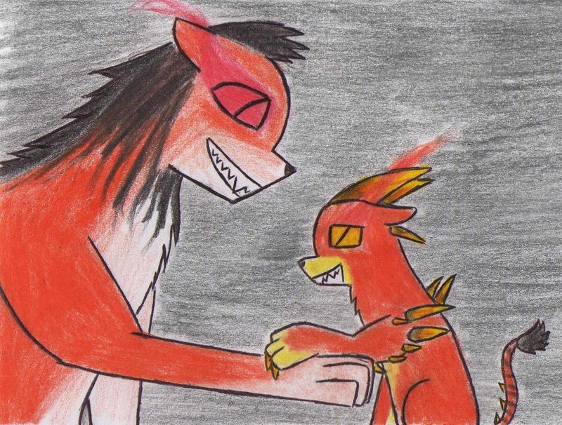 Lioden: demonic lion daddy by Kooskia