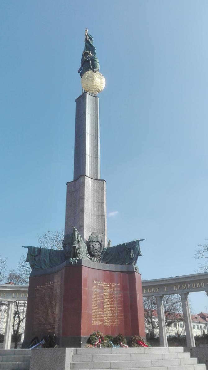 Soviet Wien war memorial by Kooskia