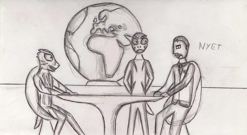 Soviet - Alien negotiation by Kooskia