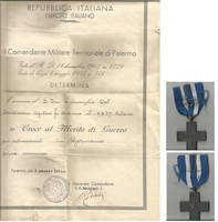 Grandpa award (ww2 - interned) by Kooskia