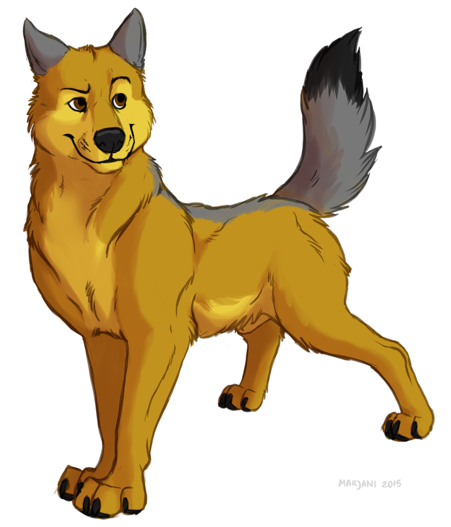 Kooskia - feral wolf sona by Kooskia