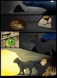 Cat comic page by Kooskia