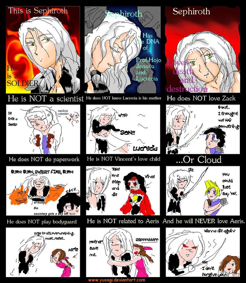 Sephiroth Is.... by Yusagi