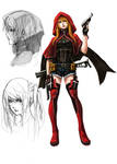 Outlaw Players character concept : Lysea