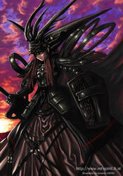 Female Chaos Knight by shonensan