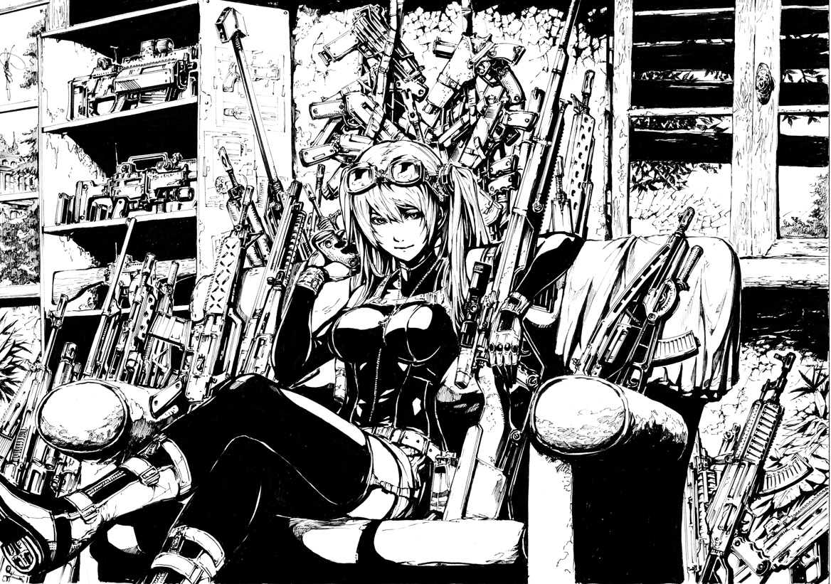 Gunsmith by shonensan
