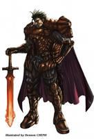 Male knight by shonensan