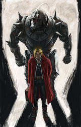 Elric Brothers by shonensan