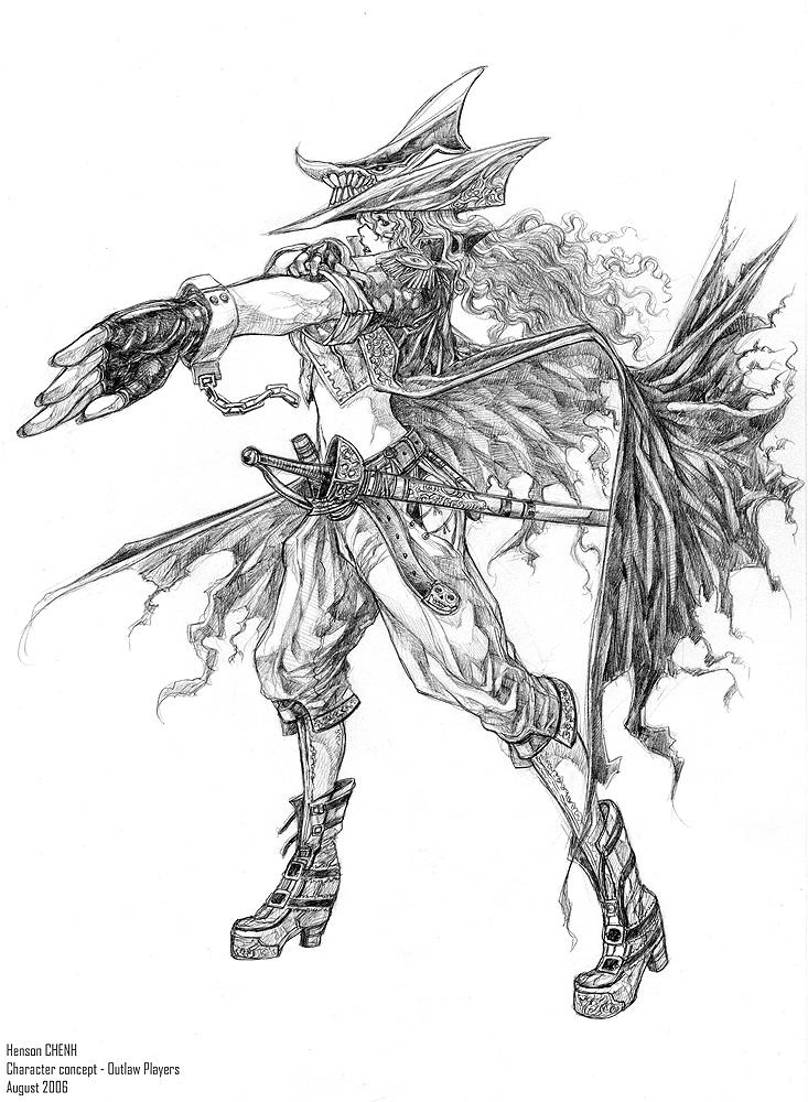 Female pirate by shonensan