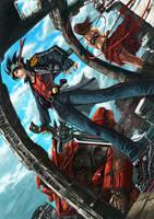Cyber fantasy by shonensan