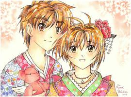 Sakura and Syaoran - Love