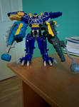 Spino Charge Megazord Ankylo-Pachy Formation