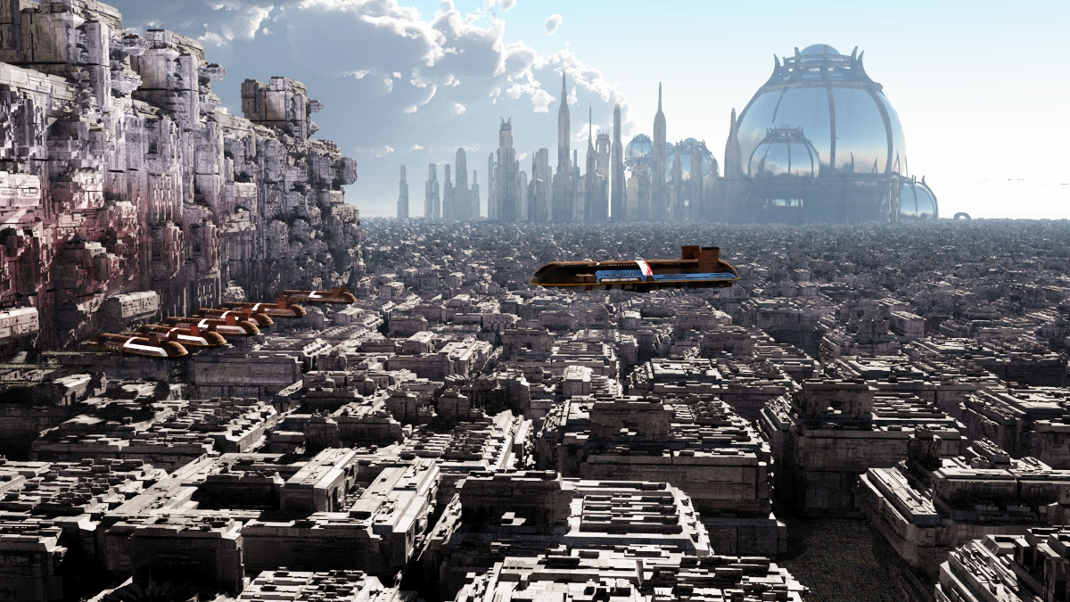 Coruscant like city by rodluc2001