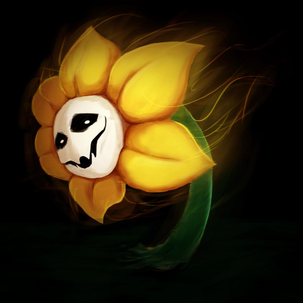 Flowey The Flower By RaouII On DeviantArt