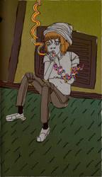 Smoking Snake by herpette