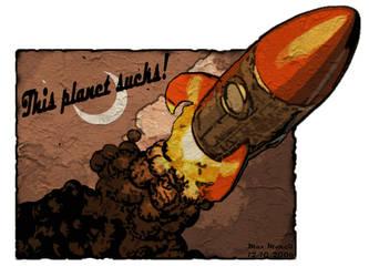This Planet Sucks 2 by Maxhm