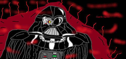 Paint: Darth Vader the Last Sith Lord. by LonelySitlentAngel