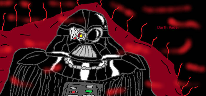 Paint: Darth Vader the Last Sith Lord.