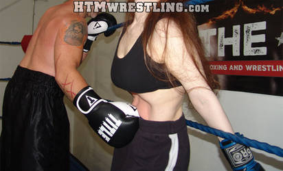 Beaten Red - Belly Punching by MixedBoxingArt