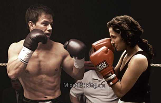 Main Event Remake? Mark Whalberg vs Jennifer Lopez by MixedBoxingArt