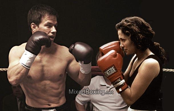 Main Event Remake? Mark Whalberg vs Jennifer Lopez by MixedBoxingArt