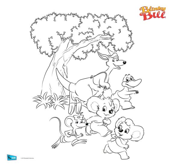 Blinky Bill Gang Drawing By Blinkybillfan On DeviantArt