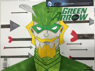 Animated Green Arrow
