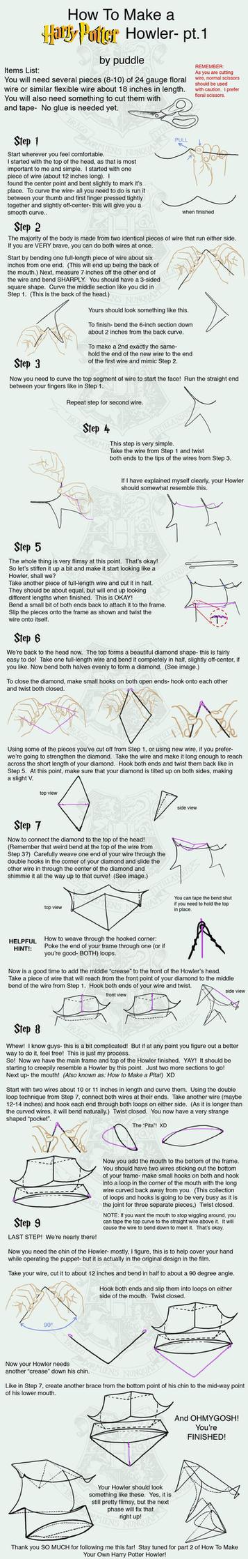 How to Make a HP Howler- pt.1 by mizutamari