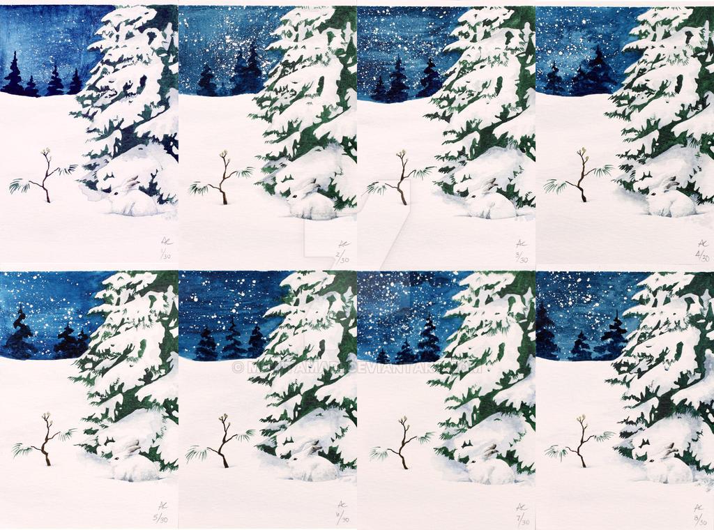2007 Christmas Cards By Mizutamari On Deviantart