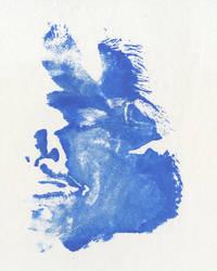 Self-Portrait-Yves Klein style