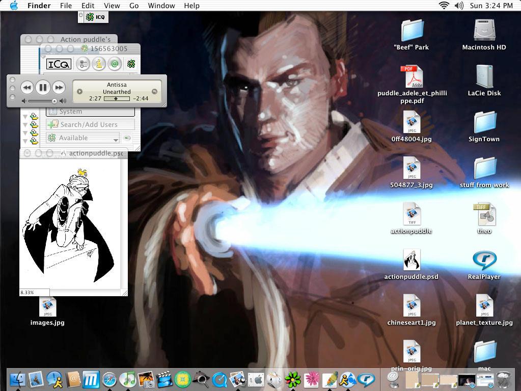 puddle's desktop