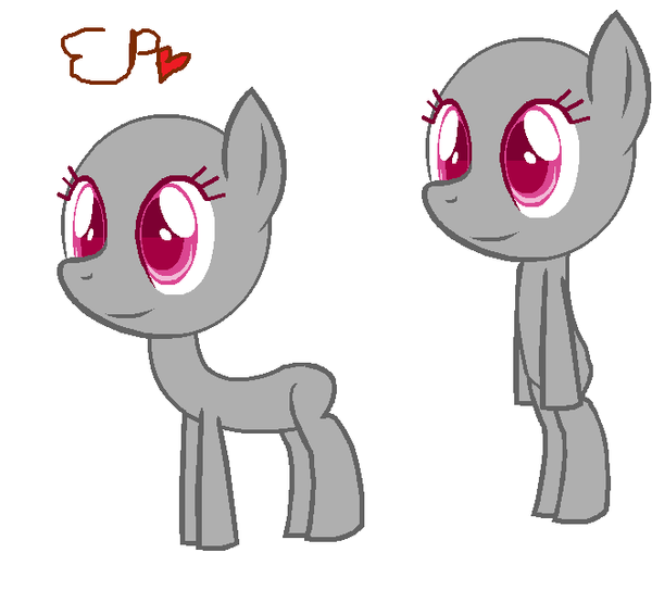 Base Nmash Pony by EduardoNunes109