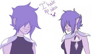 Lavender Sapphire sketch by Sallade
