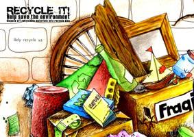 Recycle It__postcard1 by dawnakatsuki